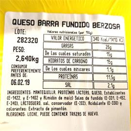 BACALAO AHUMADO TARRINA BERZOSA 700GR