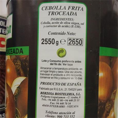 PIMIENTO CARAMELIZADO PRISCA CUBO 3,5 KG