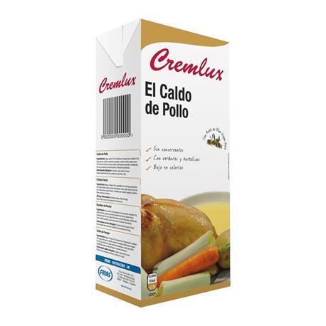 CALDO CREMLUX POLLO BRIK 1L