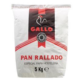 GALLO PAN RALLADO 5 KG.