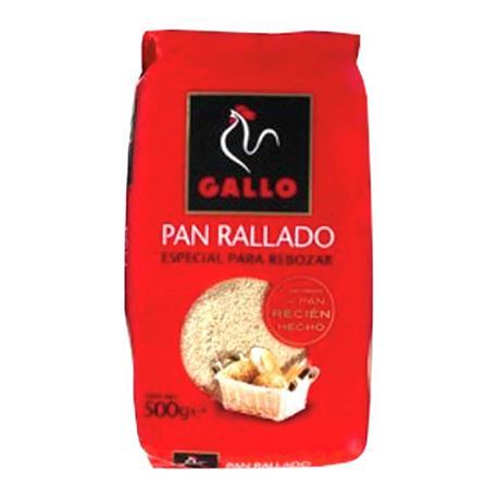 GALLO PAN RALLADO 500 GR.