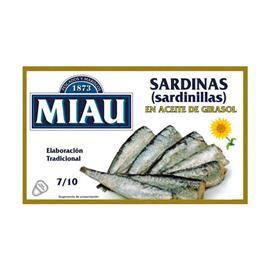 SARDINILLAS GIRASOL 7/10 RR.90 MIAU