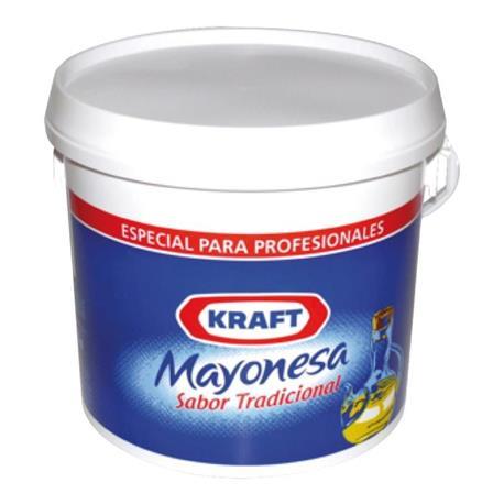 MAYONESA KRAFT CUBO 3,700 KG.