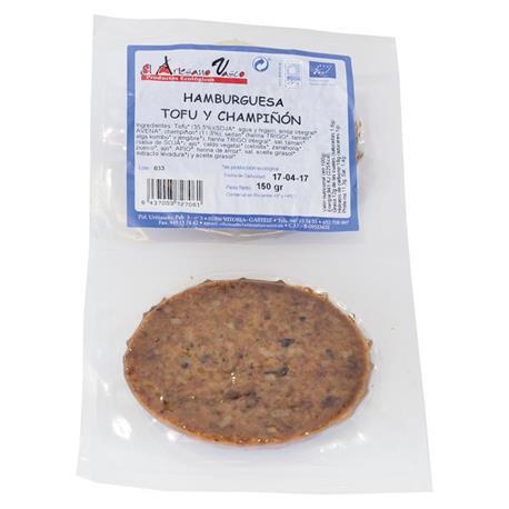 HAMBURGUESA TOFU Y CHAMPIÑON PACK 2X75GR
