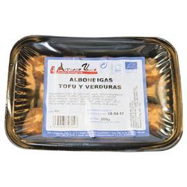 ALBONDIGAS DE TOFU Y VERDURAS 200 GR.