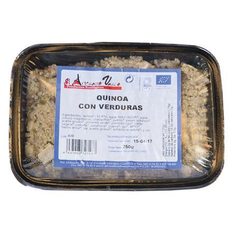 QUINOA CON VERDURAS 200 GR.