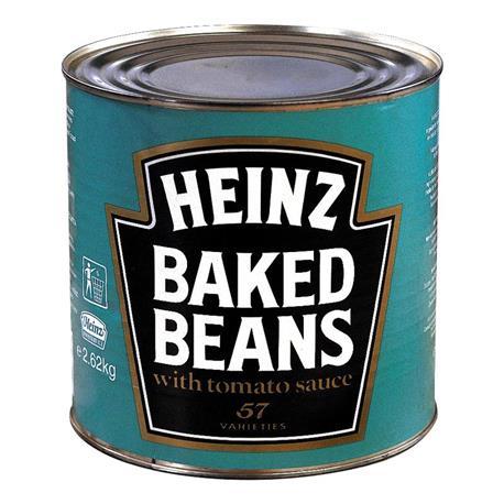 BAKED BEANS HEINZ LATA 2,62 KG.