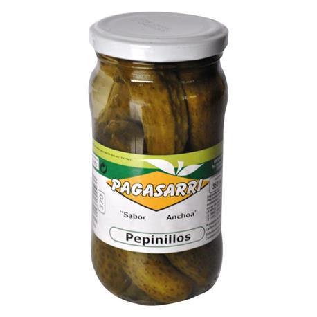 PEPINILLO PAGASARRI 1/2KG. FRASCO