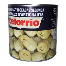 ALCACHOFAS TROCEADAS 3 KG.
