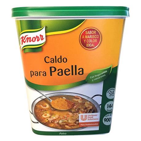 CALDO PARA PAELLA POLVO KNORR 900 GR.