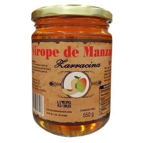 SIROPE MANZANA ZARRACINA 550 GRS