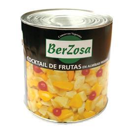 COCKTAIL FRUTAS BERZOSA 3 KG.