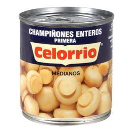 CHAMPIÑON ENTERO 185 GR. CELORRIO 1/4