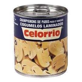CHAMPIÑON LAMINADO 185 GR CELORRIO 1/4