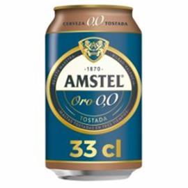 AMSTEL ORO LATA 33 CL
