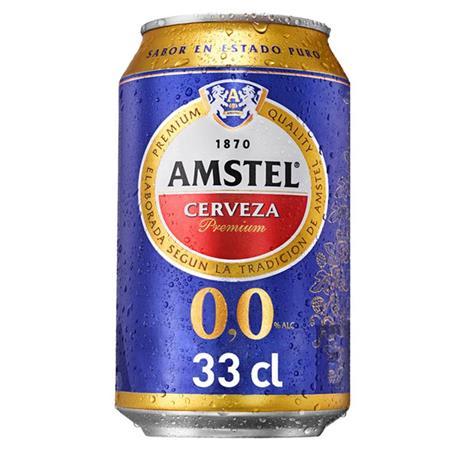 AMSTEL 0,0% BOTELLA 25 CL.