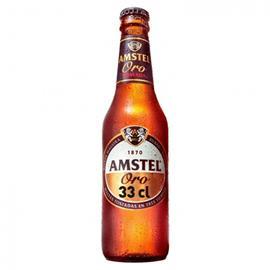AMSTEL ORO BOTELLA 33 CL