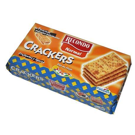 CRACKERS NORMAL RECONDO 250 GR.
