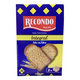 PAN INTEGRAL TOSTADO RECONDO 270 GR.