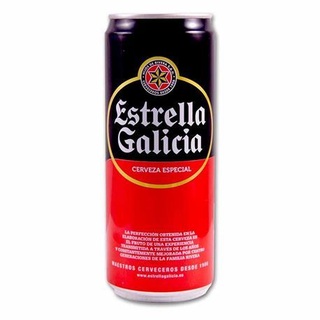 CERVEZA ESTRELLA GALICIA LATA 33 CL.