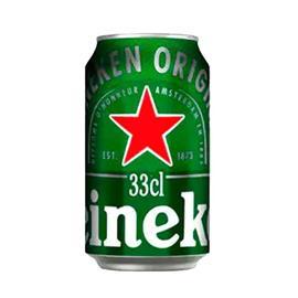 CERVEZA HEINEKEN LATA 33 CL.