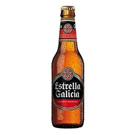 CERVEZA ESTRELLA GALICIA BOTELLIN 25 CL.