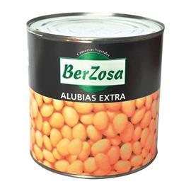 ALUBIA BLANCA COCIDA BERZOSA LATA 3 KG.