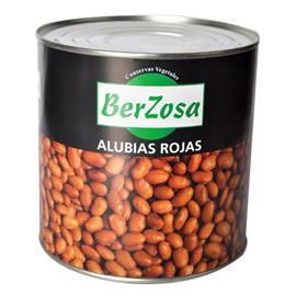 ALUBIA ROJA COCIDA BERZOSA LATA 3 KG.