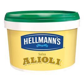 SALSA ALIOLI HELLMANNS CUBO 3 LITROS