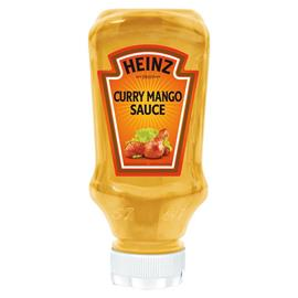 SALSA CURRY MANGO HEINZ 220 ML.