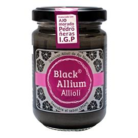 SALSA BLACK ALLIUM ALLIOLI 135 GR.