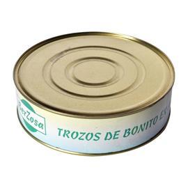 TROZOS BONITO ACEITE BERZOSA 2,4 KG.