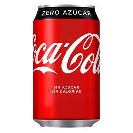 ZERO COCA-COLA LATA 24 X 33 CC.