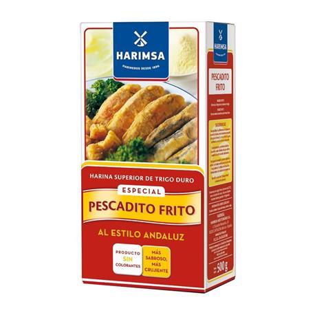 HARINA PESCADITO FRITO HARIMSA 500 GR