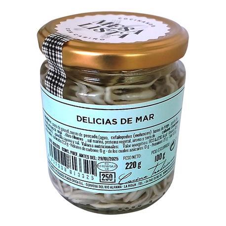DELICIAS DE MAR MESA LISTA 220GR.