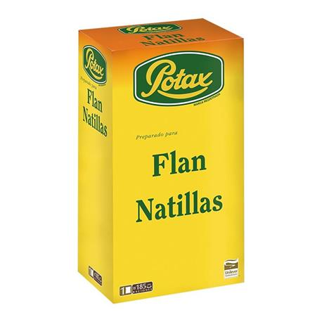 FLAN POTAX PAQUETE 1KG.