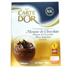 CARTE D,OR MOUSSE CHOCOLATE 720 GR.