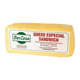 QUESO ESPECIAL SANDWICH BERZOSA 3K.APROX