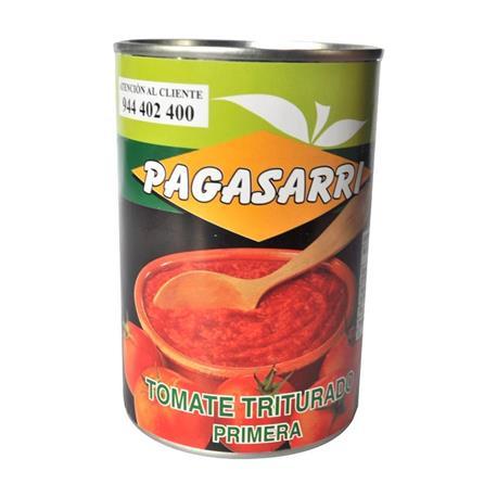 TOMATE TRITURADO LATA PAGASARRI 1/2 KG.