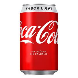 LATA LIGHT COCA-COLA 24 X33 CL.