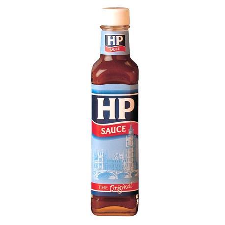 SALSA ORIGINAL HP SAUCE FRASCO 255 GR.