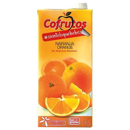 NECTAR NARANJA 1LITRO BRIK COFRUTOS S/AZ